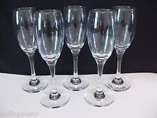 """Pasabahce Imperial WINE GLASSES SET OF 5 Stemware 7.75"""" Tall Made In Turkey 7oz"""