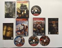 Playstation 2 - God of War 1 & 2  Shadow of the Colossus 3 Game Bundle! PS2