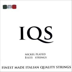 IQS ELECTRIC BASS LT GAUGE 45-100 NICKEL STEEL TOP QUALITY ITALIAN STRINGS!!