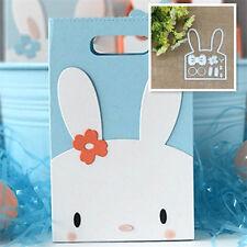 Rabbit Metal Cutting Dies Stencil Scrapbooking Paper Card Embossing Craft DIY