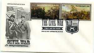4980-81 Civil War: 1865 on one ArtCraft FDC Pictorial 'guns' cancel