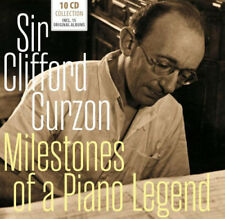 Sir Clifford Curzon : Milestones of a Piano Legend CD (2017) ***NEW***