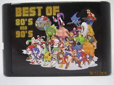 196 in 1 Sega Genesis Mega Drive Game Cartridge - 16-Bit Multi Cart