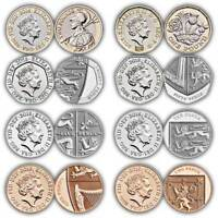 Royal Mint 2018 NEW COINS TWO POUND DOWN CHOICE OF COIN BU