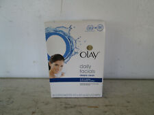 Olay Daily Facials Deeply Clean 4 in 1 Water Activated Cloths, Open Box