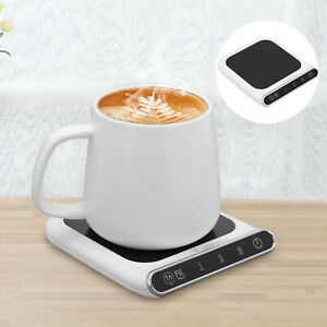 Smart USB Mug Warmer Heater Coaster Temperature Heat Coffee Cup Great Office