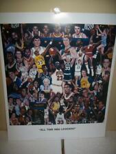 NBA Legends Greatest of All-Time Lithograph Robert Simon Art