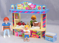 PLAYMOBIL aus 5555 Kiosk Imbiss-Bude Snackbar Stand Äpfel Popkorn Vater Sohn #7