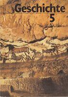 Geschichte Klasse 5 DDR Lehrbuch Volk und Wissen 1988