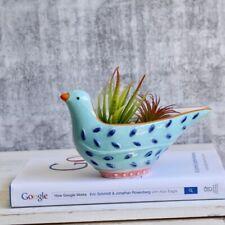 Blue Bird Ceramic Succulent Planter Pot