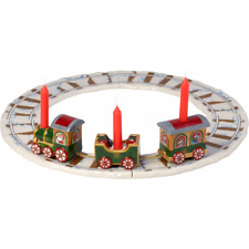 Villeroy & Boch Christmas NORTH POLE EXPRESS Train with Rails