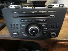 MAZDA 3 FACTORY STEREO RADIO/CD PLAYER BLUETOOTH TYPE, BL, 04/09-10/13 10 11 12