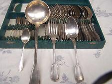service menagere fourchettes cuilleres louche metal argente