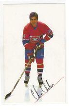 1985 Montréal Canadiens Chris Chelios signed photo