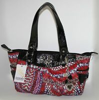 NEW Kathy Van Zeeland Skip a Beat Satchel Handbag Shoulder Bag Purse, NWT