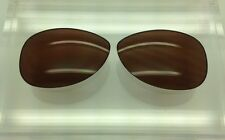 Oakley Restless Custom Made Sunglass Replacement Lenses Brown Polarized NEW!!!