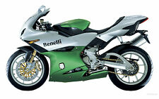 Benelli Touch Up Paint Kit Tornado 900S Green & Silver.
