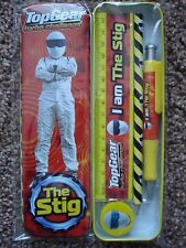 ***NEW*** 'THE STIG' TOP GEAR TURBO CHALLENGE STATIONERY SET IN TIN.