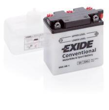 Batterie moto Exide 6N6-3B-1 6V 6AH 30A 100X55X110MM ACIDE COMPRIS