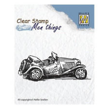 Tampon transparent clear stamp scrapbooking Nellie's Choice VOITURE ANCIENNE