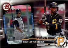2017 Topps Bowman Then and Now Insert # 12 ANDREW MCCUTCHEN Pittsburgh Pirates
