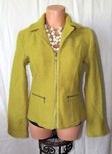 Tria Women's Green Wool Jacket Size S
