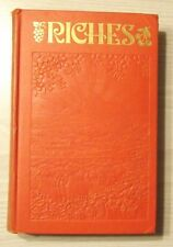 1936 RICHES J F RUTHERFORD Watchtower Jehovah ORIGINAL IBSA