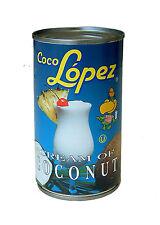 Coco lopez crème de noix de coco 6 x 425g boissons tropicales desserts pina colada