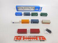 CN868-0,5# Roco/Wiking etc H0 Konvolut Container: Volvo + UASC + CTI etc, s.g.