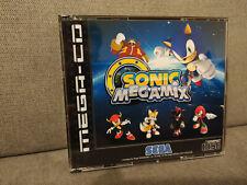 Sonic Megamix Sega Mega CD (Sonic Mega Mix) Boitier style MEGA CD PAL
