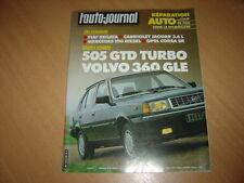 AJ N°19 1983 505 GTD Turbo.Volvo 360 GLE