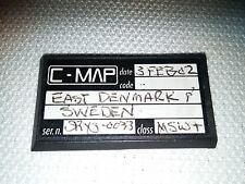 C-Map: East Denmark and Sweden class: MSW+; FEB 2002 CMAP C-CARD