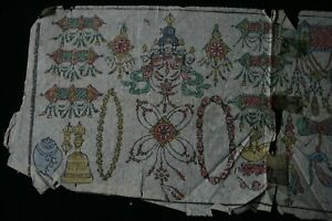 Ancient Mongolian Tibetan Buddhist Manuscript Sutras Leave Mongolia #15-J95