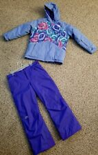 North Face girls snow gear outerwear jacket and pants plus size XL!