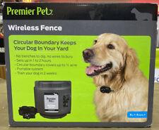 Premier Pet (GIF00-16917) - Wireless Fence System Circular Boundary (8lbs +)