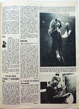 CATHERINE DENEUVE => coupure de presse ESPAGNOLE 1 page 1975