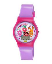 Moshi Monster Digital Lcd Reloj De Pulsera Niña Niño Rosa Regalo presente Nuevo 71150