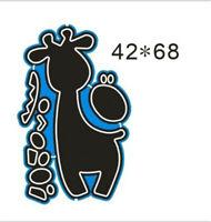 Stanzschablone Giraffe Tier Weihnachten Geburtstag Hochzeit Oster Album Karte