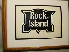 Rock Island Railroad logo by Howard Fogg