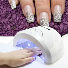 Sunshine White LED UV Lamp Nail Polish Gel Builder Dryer Curing Machine