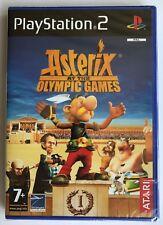 PS2 Astérix aux jeux olympiques (2008), Royaume-Uni PAL, BRAND NEW & FACTORY SEALED