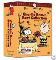 Charlie Brown Collection DVD English and Korean subtitle