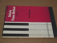 Belwin Mills Book One Piano Method Sheet Music 1964 U.S.A. Beginner