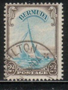 BERMUDA, USED SCOTT #109 MARINE, 1938   VAL. $ 16.00