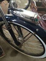 Chrome Schwinn light bicycle headlight  Torpedo Rocket Streamline bike light