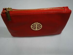 Quality Cross Body Bag Zip Top,Wrist Purse, Evening Bag, Purse, All in One RED