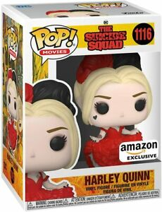 The Suicide Squad - Harley Quinn (Dress), Amazon Exclusive Funko Pop Limited
