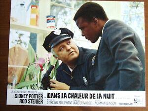 ROD STEIGER DANS LA CHALEUR DE LA NUIT 1967  PHOTO D'EXPLOITATION 21 X 27CM