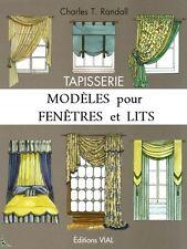 Tapisserie, Modèles pour fenêtres et lits, de Randall