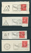GB UNITED NATIONS POSTMARKS TRIANGLE LONDON 1945
